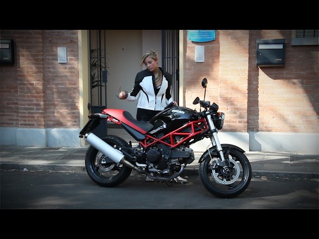 Ducati Monster al MEF