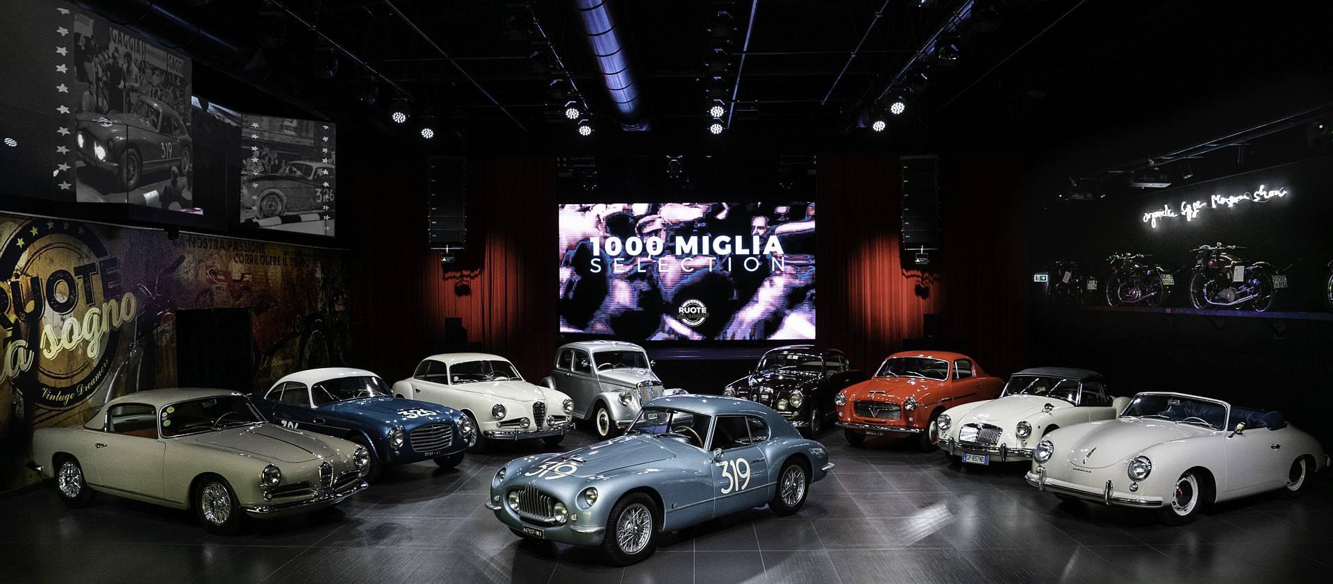 1000miglia: in un video il museo di auto da investimento di Ruote da Sogno