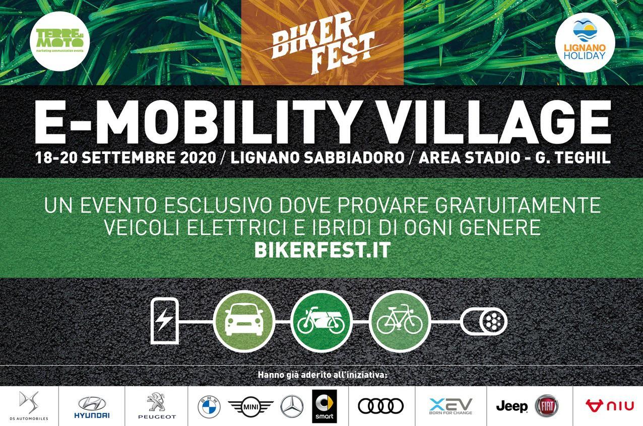 34°Biker Fest, 25°Us Car Reunion, e-Mobility Village: il più grande evento a motore 2020 del Nordest