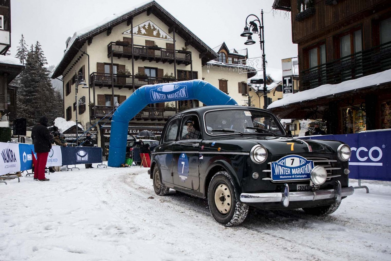 #wintermarathon2021: vincono Bellini-Tiberti su Fiat 508C del 1937. Neve sui passi, spettacolo e successo organizzativo