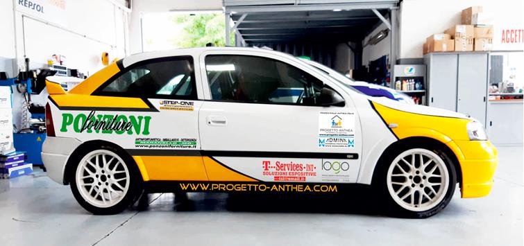 Adria Rally Show: Admina al via con Opel OPC