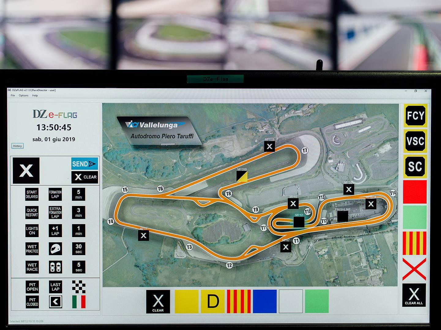 Sicurezza negli autodromi: l'italiana DZ Engineering introduce le DZe-Flag, saranno obbligatorie in tutti i Circuiti motoristici