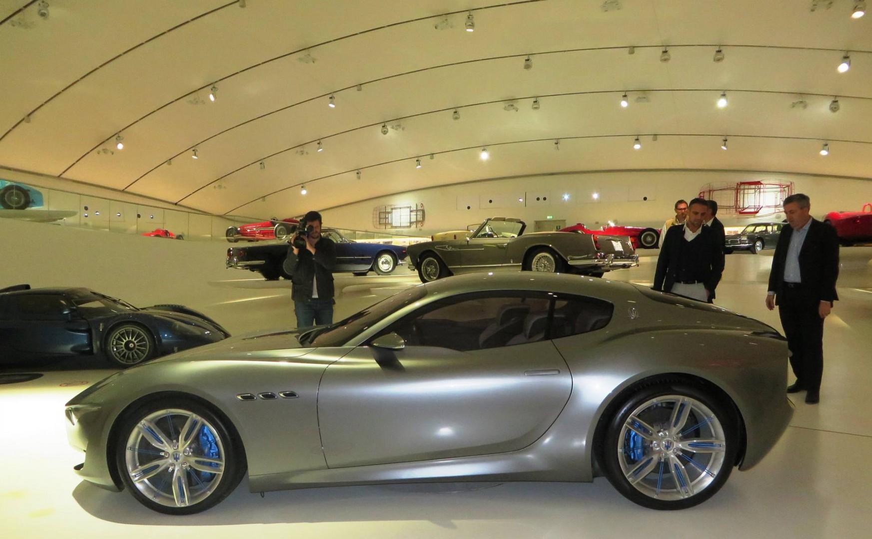 Nasce la divisione unica Alfa Romeo- Maserati, la nuova Alfieri sarà costruita a Modena